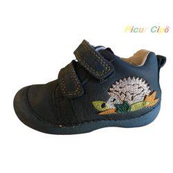 D.D. Step - első lépés, átmeneti gyerekcipő, hajlékony talpon, bokszbőr, magas lábfejre is, sünis