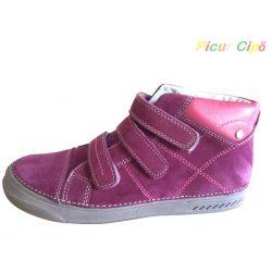 D.D. Step - átmeneti gyerekcipő, magas lábfejre is, pink