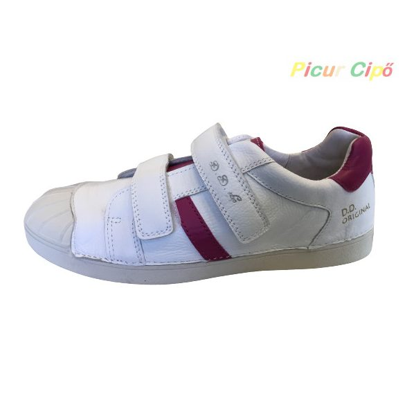 D.D. Step - sportos, átmeneti gyerekcipő, fehér