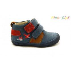 Szamos - első lépés átmeneti gyerekcipő, puha talpon, kék, barna, piros, repcsis