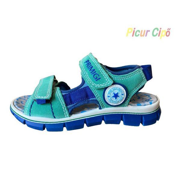 PRIMIGI - zöld-kék gyerekszandál, csillaggal