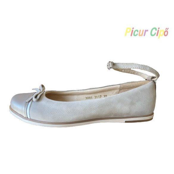 SZAMOS - balerina cipő, bézs