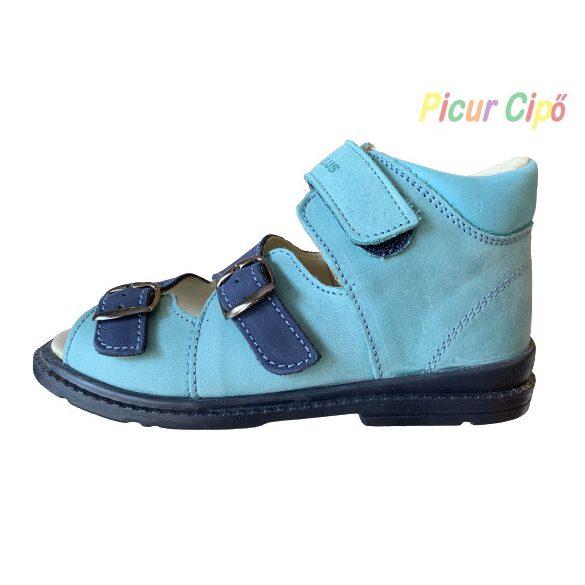 Salus - szupinált prémium flexi FLO 911 gyermekszandál, kék