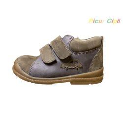 Salus - szupinált prémium flexi F 68 átmeneti gyerekcipő, barna, autós