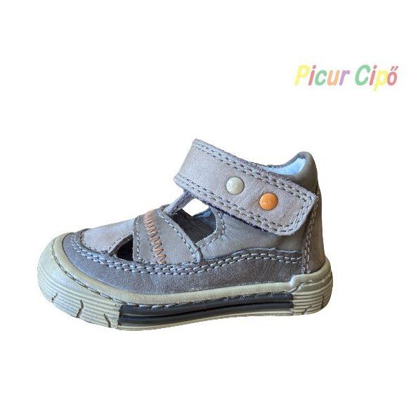 Linea - nyitott cipő, barna