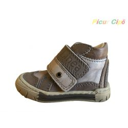 Linea - átmeneti gyerekcipő, keskeny, vékony lábfejre, barna