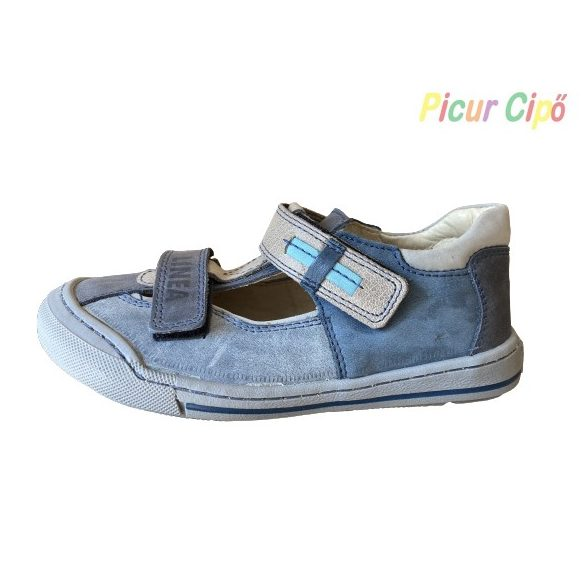 Linea - nyitott cipő, farmerkék
