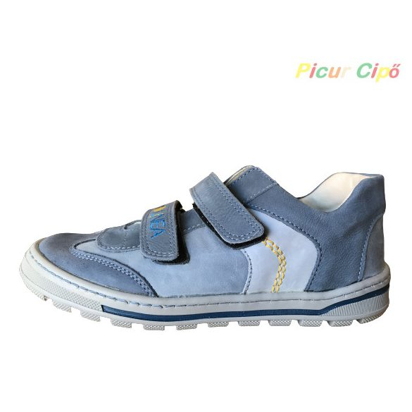 Linea - átmeneti gyerekcipő, keskeny modell, kék
