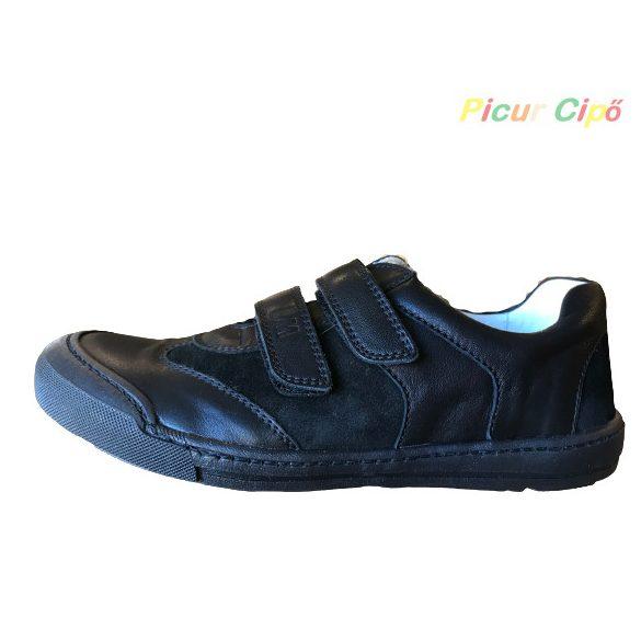 Linea - átmeneti gyerekcipő,  ünneplős és hétköznapi, fekete