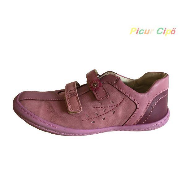 Linea - átmeneti gyerekcipő, keskeny, vékony lábfejre, mályva, bordó