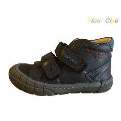 Linea - átmeneti gyerekcipő, koptatott bokszbőr, kék